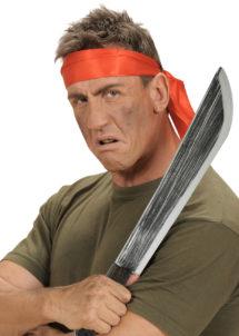 fausse machette, machette en plastique, faux couteau, machette factice, arme factice, fausses armes, faux couteau de déguisement, armes de déguisements, fausses armes, couteau en plastique, fausse machette, fausse arme halloween, Machette