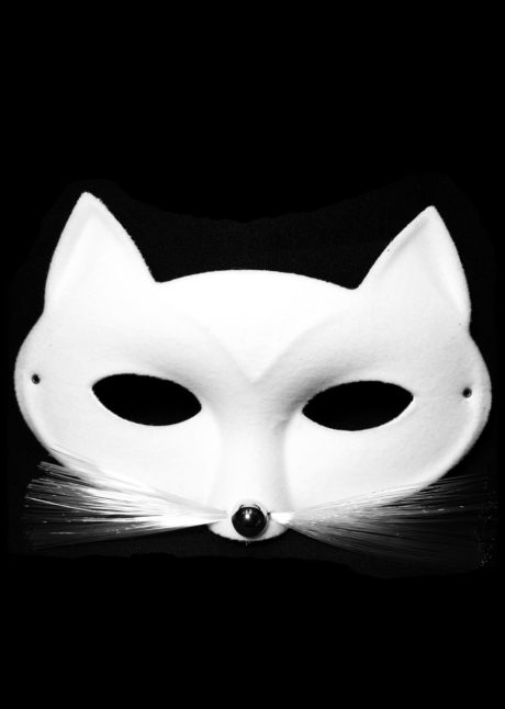 masque chat blanc, masque de chat, loup chat blanc, masque chat, Loup Chat Tabby, Blanc