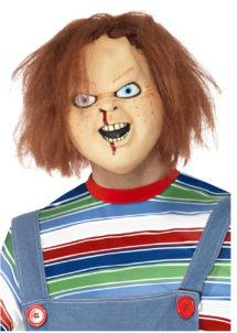 masque chucky, masque de déguisement, accessoire déguisement masque, accessoire masque déguisement, masque halloween déguisement, masque déguisement halloween, Masque Chucky