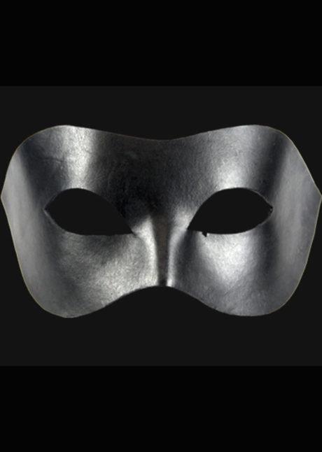 masque vénitien, loup vénitien, masque en cuir, masque cuir noir, Civette Loup Cuir Noir
