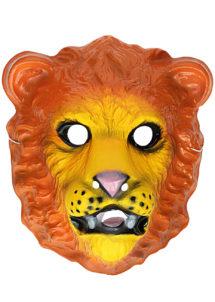 masque de lion, masque lion plastique, masque lion pour enfant, masques d'animaux, Masque de Lion