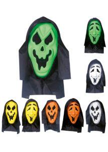 masque fantôme enfant, masque de déguisement, masque halloween enfant, masque enfant halloween, accessoire déguisement halloween enfant, Masque de Fantôme à Capuche