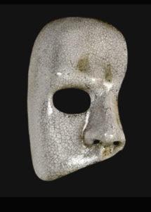 masque vénitien, loup vénitien, masque carnaval de venise, masque vénitien fait à la main, masque fantôme de l'opéra, Vénitien, Fantôme de l'Opéra, Craquelé