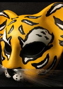 masque chat tigre, masque de chat tigre, Loup Masque, Gatone Tigre, Yellow