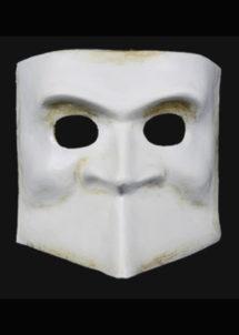 masque vénitien, masque carnaval de venise, masque vénitien bauta, loup vénitien fait main, Vénitien, Bauta Cera