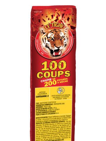 pétards, pétards et fumigènes, pyragric, acheter des pétards à paris Pétards, Mitraillette 100 Coups, Le Tigre