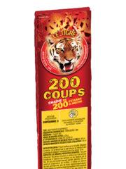 pétards, pétards et fumigènes, pyragric, acheter des pétards à paris Pétards, Mitraillette 200 Coups, Le Tigre