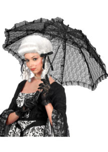 ombrelle de déguisement, ombrelle en dentelle, ombrelle de marquise, ombrelle dentelle noire, ombrelle en dentelle, Ombrelle en Dentelle, Noire