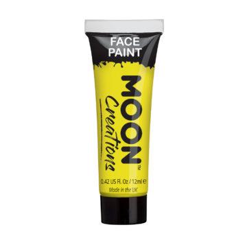 peinture corps et visage jaune, peinture jaune, bodypainting jaune, maquillage jaune, peinture visage jaune, peinture corporelle jaune Peinture Corps et Visage, Moon Classic, Jaune