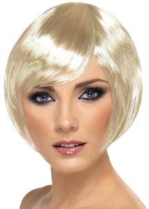 perruque blonde, perruque femme blonde, perruque femme courte, Perruque Babe, Blonde