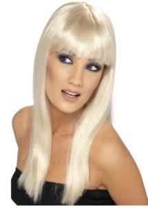 perruque blonde femme, perruque cheveux blonds, perruque carré blonde femme, perruques paris, Perruque Glamourama, Blonde