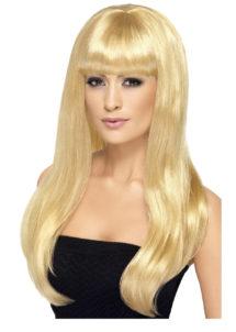perruque blonde femme, perruque cheveux longs blonds, perruques blondes femme, perruques blonde, Perruque Babelicious, Blonde