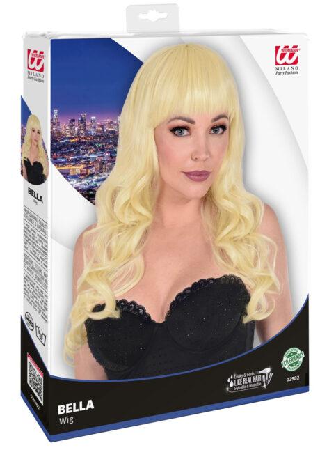 perruque blonde, perruque top qualité, perruque lavable blonde, perruque qualité supérieure, Perruque Bella, Blonde, Lavable et Stylisable