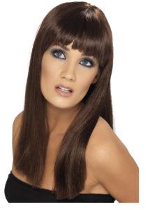 perruque châtain femme, perruque carré châtain, perruque femmes, perruque paris châtains, Perruque Glamourama, Châtain