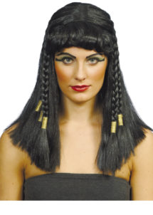 perruque femme, perruque pas cher paris, perruque noire, perruque cléopatre, perruque d'égyptienne, perruque de cléopatre, Perruque Cléopatra, Noire