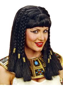perruque femme, perruque pas cher paris, perruque noire, perruque cléopatre, perruque d'égyptienne, perruque de cléopatre, Perruque Cléopatre, Noire