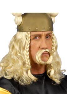 perruque homme, perruque de gaulois, perruque asterix, perruque de viking, perruque blonde, Perruque de Gaulois, Blonde