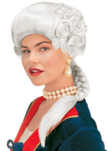 perruque de marquise, perruque femme, perruque historique, perruque de duchesse, perruque historique, Perruque de Marquise, Joséphine, Blanche