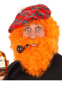 perruque rousse, barbe rousse, perruque saint Patrick pour homme, barbe saint Patrick, perruque rousse homme, perruques hommes, Perruque + Barbe, Character, Rousse