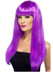 perruque violette femme, perruque femme, perruque cheveux longs violets, Perruque Babelicious, Violette