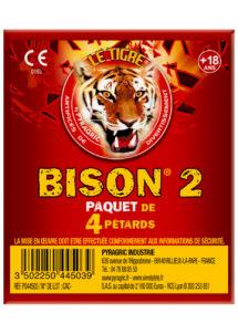 pétards, pétards et fumigènes, pyragric, acheter des pétards à paris, pétards bisons, pétards le tigre, Pétards Bison 2, Le Tigre
