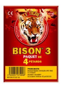 pétards, pétards et fumigènes, pyragric, acheter des pétards à paris, pétards bisons, pétards le tigre, Pétards Bison 3, Le Tigre