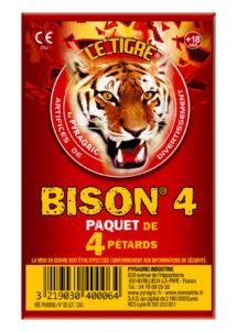pétards, pétards et fumigènes, pyragric, acheter des pétards à paris, Pétards Bison 4, Le Tigre