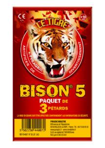 pétards, pétards et fumigènes, pyragric, acheter des pétards à paris, Pétards Bison 5, Le Tigre