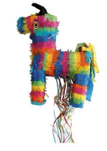 pinata, pinata mexicaine, pinata d'anniversaire, pinata pour anniversaire, pinata ane mexciain, Pinata, Ane Multicolore