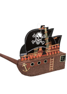 pinata, pinata mexicaine, pinata d'anniversaire, pinata pour anniversaire, pinata bateau de pirate, Pinata, Bateau de Pirate