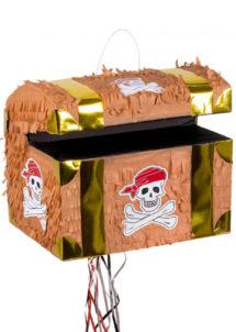pinata, pinata mexicaine, pinata d'anniversaire, pinata pour anniversaire, pinata coffre de pirate, Pinata, Coffre de Pirate