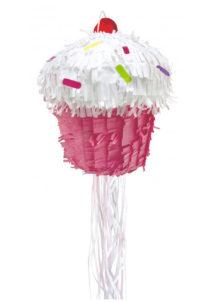 pinata, pinata mexicaine, pinata d'anniversaire, pinata pour anniversaire, pinata cupcake, Pinata, Rainbow Cupcake