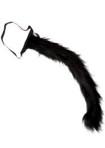 queue de chat, déguisement chat accessoire, se déguiser en chat, Queue de Chat Noir
