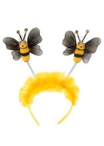 serre tete abeilles, accessoire abeille déguisement, accessoire déguisement d'abeille, accessoire antennes d'abeilles déguisement, Serre Tête d'Abeille