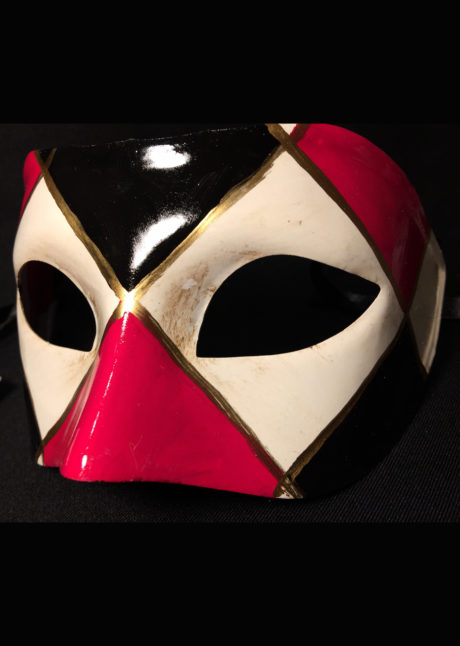 masque vénitien, loup vénitien, masque carnaval de venise, masque vénitien fait à la main, Vénitien, Civette Losanges