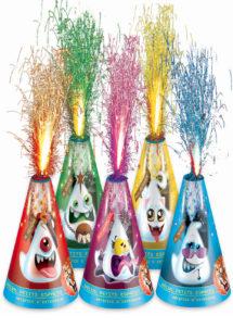 artifices pour enfants, volcans pour enfants, volcans pyragric, artifices pyragrics enfants, pétards, Mini Volcans, Artifices Scary Family