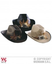 chapeau de cowboy, chapeaux de cowboy, chapeaux de cow boy, accessoires déguisements cowboys Chapeau de Cowboy Dallas