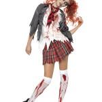 déguisement zombie femme, déguisement halloween femme, déguisement écolière zombie femme, costume écolière zombie femme, costume halloween femme, costume femme zombie halloween Déguisement Ecolière Zombie