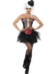 corset squelette et vicères halloween, accessoire déguisement halloween femme, déguisement halloween femme, déguisement femme halloween, déguisement zombie halloween femme, déguisement zombie femme halloween, costume femme halloween Corset Squelette et Viscères