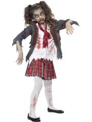 déguisement écolière zombie Déguisement d'Ecolière Zombie, Fille