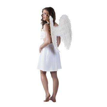 ailes de déguisement, ailes pour se déguiser, ailes d'anges, ailes d'ange, ailes en plumes, ailes blanches Ailes d'Ange, Plumes Blanches, 65×65