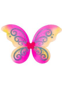ailes de fées, ailes de papillon, ailes enfants, Ailes de Fée Papillon Fuchsia Paillettes, Enfant