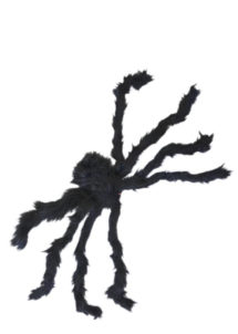 fausse araignée, araignées halloween, accessoire araignée halloween, accessoire décorations halloween, décorations araignées halloween, décorations halloween, fausse araignée réaliste, fausse araignée géante, Araignée Géante, Fausse Fourrure Noire