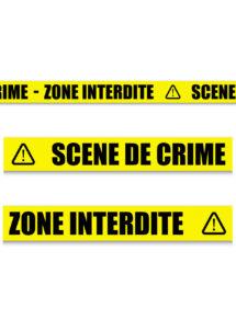bande de sécurité scène de crime, bande de sécurité police, Bande de Sécurité, Scène de Crime, Zone Interdite