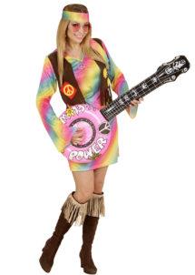 banjo gonflable, faux banjo, accessoire déguisement, faux instrument de musique, accessoire hippie déguisement, accessoire déguisement, fausse guitare, aux instrument de musique déguisement, accessoire déguisement hippie, Banjo Gonflable, Rose