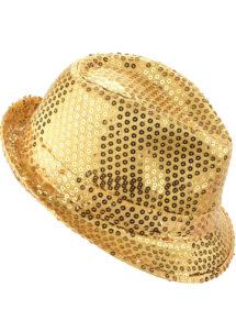 chapeau paillettes, chapeau Borsalino paillettes, chapeau doré, Chapeau Borsalino Paillettes Sequins, Doré