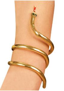 bracelet serpent égyptien, bracelet déguisement cléopatre, bijoux de déguisement, bracelet de fête, bracelet égypte, Bracelet Egyptien Serpent