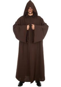 cape halloween déguisement, cape de jedi déguisement, cape adulte déguisement, cape déguisement adulte, cape déguisement jedi, accessoire cape halloween, déguisement halloween cape, cape de jedi marron déguisement, Cape de Jedi à Capuche, Marron