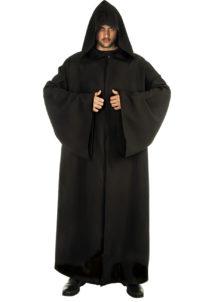 cape halloween déguisement, cape de jedi déguisement, cape adulte déguisement, cape déguisement adulte, cape déguisement jedi, accessoire cape halloween, déguisement halloween cape, cape de jedi noire déguisement, Cape de Jedi à Capuche, Noire