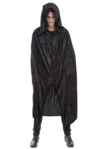 accessoire cape déguisement, déguisement cape halloween, cape noire déguisement, cape déguisement homme, cape déguisement adulte, cape halloween, cape carnaval de venise, cape à capuche déguisement, Cape Noire à Large Capuche, Velours